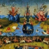detail from garden of earthly delights