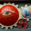 murdoch mosaics-sun planet gearing