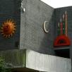 murdoch mosaics entrance from new cut car park redruth